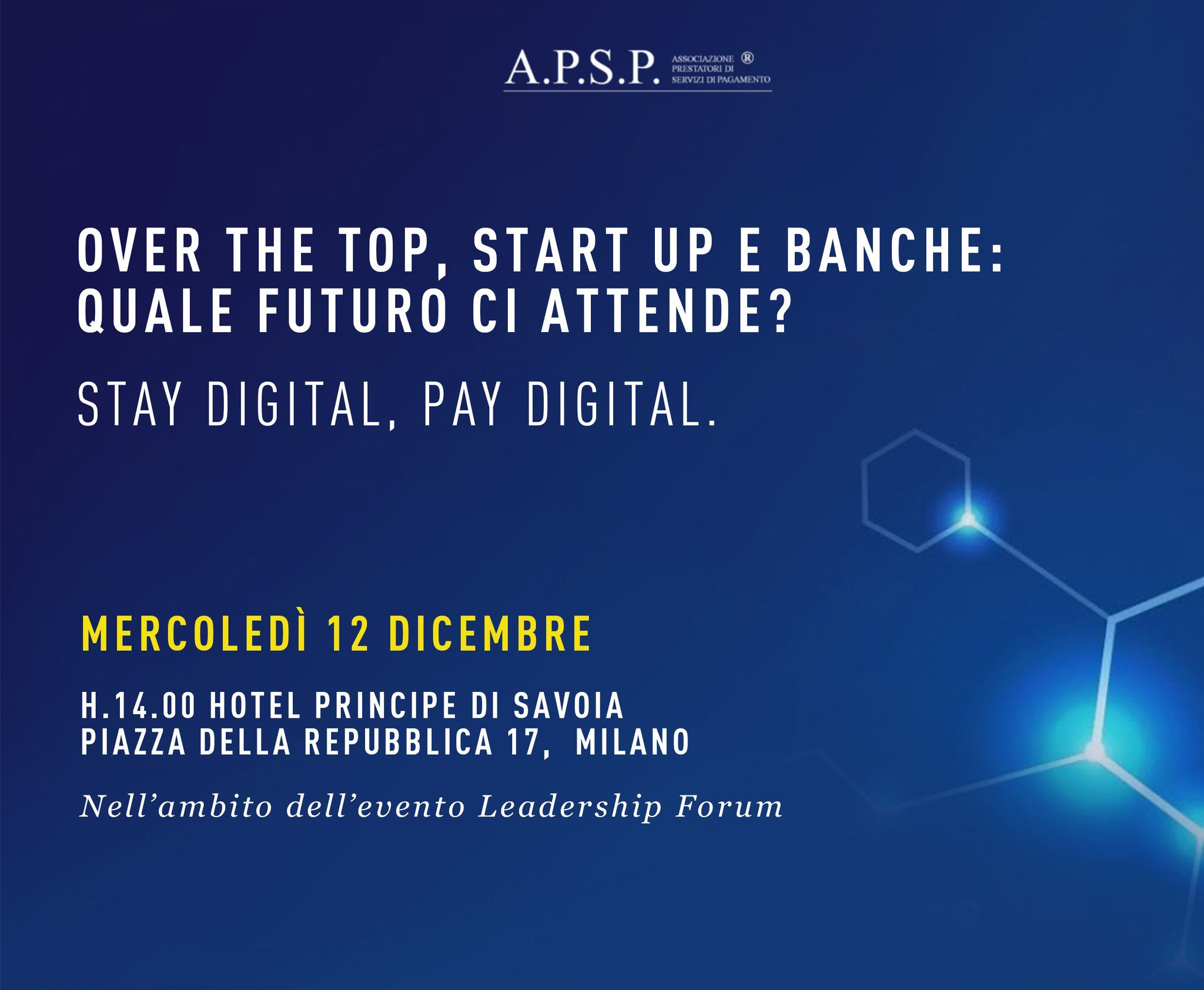 Over the top, start up e banche: quale futuro ci attende?