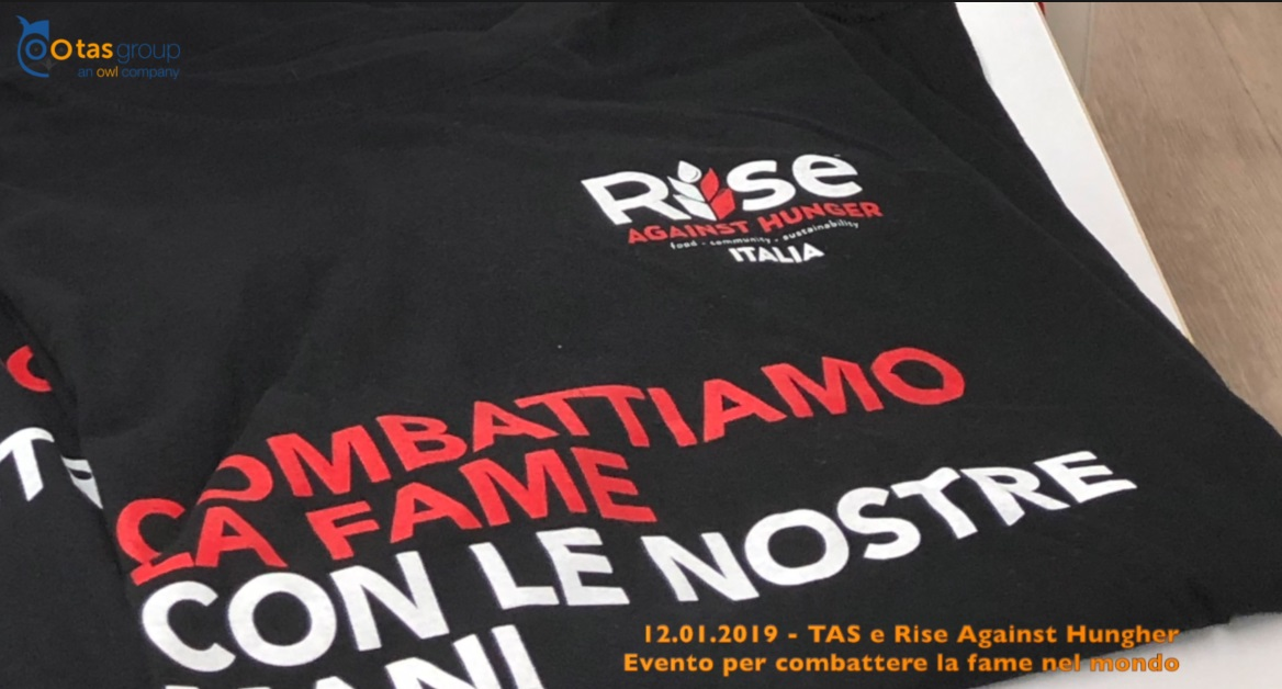 TAS Group sostiene Rise Against Hunger